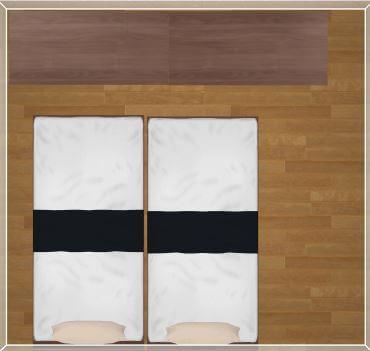 子供部屋6畳布団