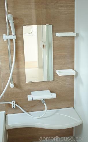 お風呂シャワーと水栓