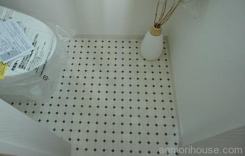 トイレ1階クッションフロア
