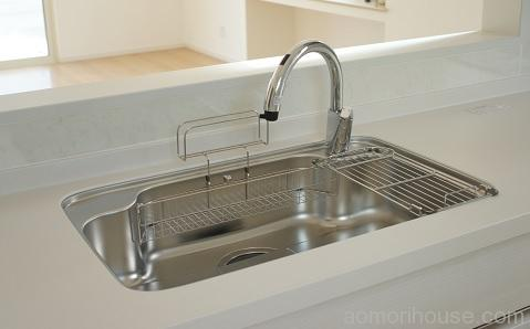 キッチンリクシル水栓