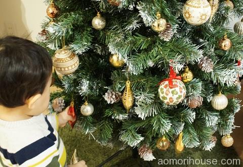 クリスマスオーナメント子供