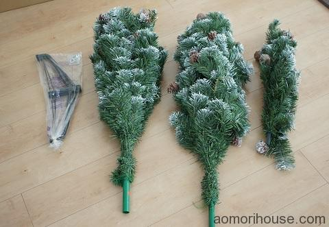 クリスマスツリーパーツ
