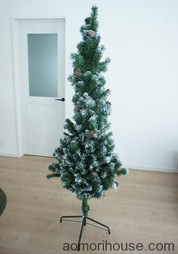 クリスマスツリー上