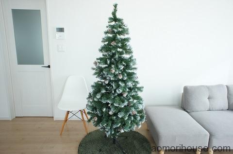 クリスマスツリー完成2