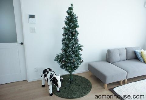 クリスマスツリー完成前