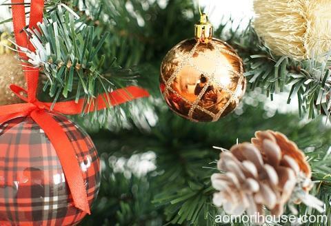 クリスマスオーナメント_ラメ