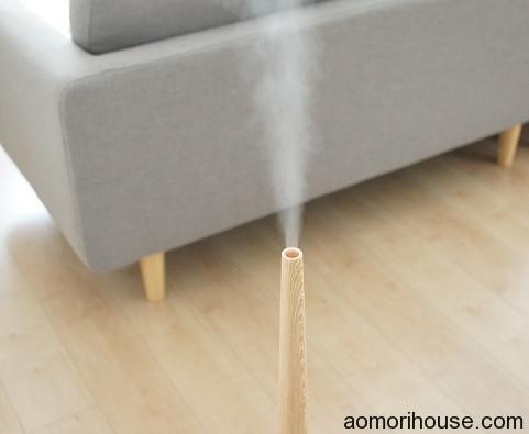 加湿器蒸気