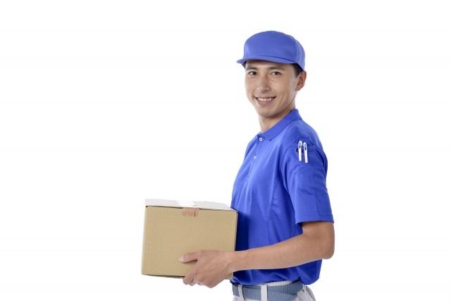 定形外郵便の配達