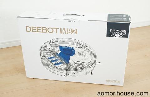 Deebot DM82商品箱裏側