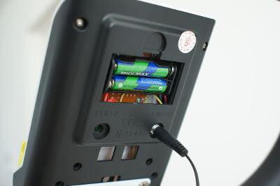 電子メーターの電池